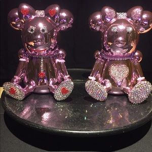 Piggy Bank & girls Crystal Shoes